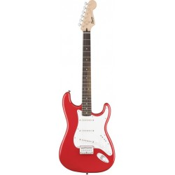 Squier Bullet Strat with Hard Tail LRL Fingerboard Fiesta Red