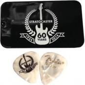 Fender Strat 60th Anniv pick tin(12)