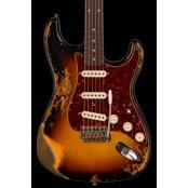 Fender Custom Shop #51- LTD '61 Stratocaster - heavy relic, faded 3-color sunburst preorder