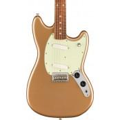 Fender Player Mustang Pao Ferro Fingerboard Firemist Gold