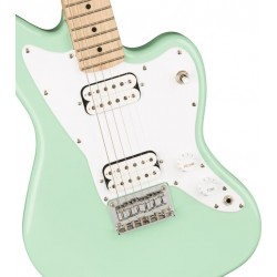 Squier Mini Jazzmaster HH Maple Neck Surf Green