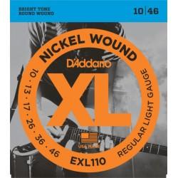 D'Addario snaren elektrisch EXL110
