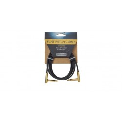 Rockboard Flat Patch Cable, Gold, 120cm