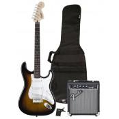 Fender Squier Strat starterspack Affinity Frontman 10G amp