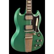 Gibson Custom 1964 SG Standard Maestro Inverness Green Metallic