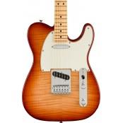 Fender Limited Edition Player Telecaster Plus Top Sienna Sunburst