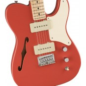 Squier Paranormal Cabronita Telecaster Thinline Fiesta Red MN