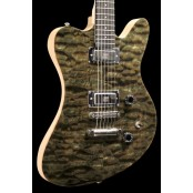 Stoney Creek Flint - F-Bird/J-Master Style Offset w/ Quilt Maple Top, Seymour Duncan Mini-Humbuckers