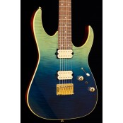 Ibanez RG421HPFM Blue Reef Gradation