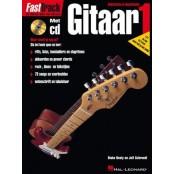 Hal Leonard/Haske Fast Track Gitaar met cd
