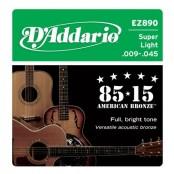 D'Addario snaren EZ890