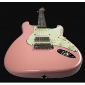 Suhr Mateus Asato HSS Shell Pink Roasted Neck RW fingerboard