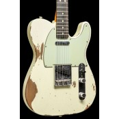 Fender Custom Shop 67 Telecaster Heavy Relic Vintage White