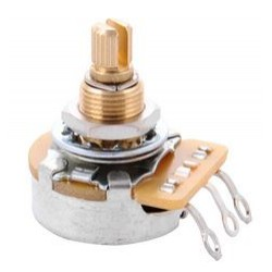 Gibson 500K OHM Audio Taper Potentiometer (Short Shaft)