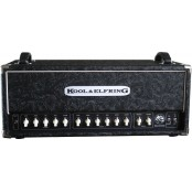Kool & Elfring black rose amp incl footswitch & cable tolex modification super lead