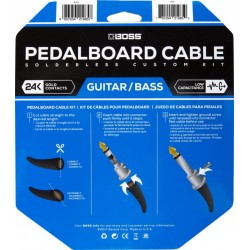 Boss Pedalboard Cable Kit 24ft/7mtr