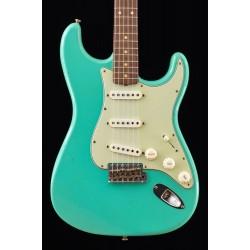 Fender Custom Shop #1 limited edition '62/'63 Stratocaster journeyman relic, aged sea foam green