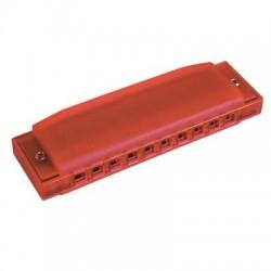 Hohner Happy Color Mondharmonica red