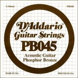 D'Addario losse snaar Phosphor Bronze 045