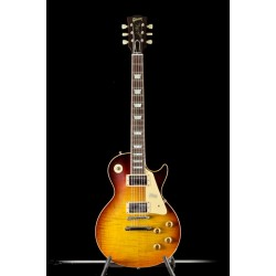 Gibson Custom 59 Les Paul Standard Dark Bourbon Fade VOS NH