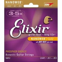 Elixir Nanoweb PBronze Light