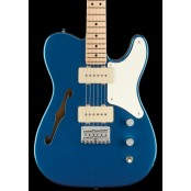 Squier Paranormal Cabronita Telecaster Thinline, Maple Fingerboard, Parchment Pickguard, Lake Placid
