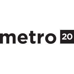 Pedaltrain Metro 20 Pedalboard with Hard Case