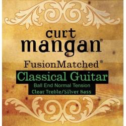 Curt Mangan snaren klassiek normal tension ball-end