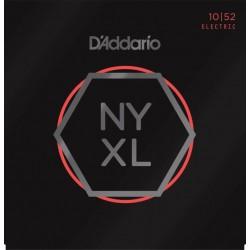 D'Addario Electric Strings Light Top-Heavy Bottem 10-52