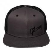Gibson Cap Black Trucker Snapback