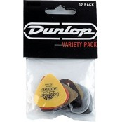 Dunlop Plectra Variety Pack 12st Light/Medium