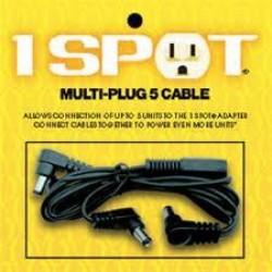Truetone MC5 multiplug 5 cable  one spot