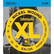 D'Addario snaren elektrisch EXL125