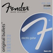 Fender snaren 3150r pure nickel bullets end