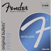 Fender snaren 3150r pure nickel bullets end