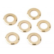 Fender Washer Schalr Key Gold (6p)
