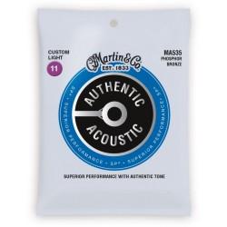 Martin SP 92/8 Phosphore Bronze - Authentic, Custom Light, 92/8