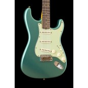 Fender custom shop 1960 Stratocaster custom-built ltd journeyman relic faded aged sherwood green met