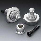 Schaller security lock satin chrome