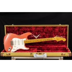 Fender Custom Shop 50s Stratocaster Journeyman Relic Faded/Aged Tahitian Coral Over 2TSB