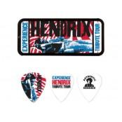 Dunlop 12 plectrums in blikje Jimi Hendrix Tribute Tour