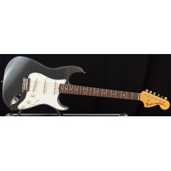 Fender Custom Shop 1970 Stratocaster Journeyman Relic RW Aged Charcoal Frost Metallic