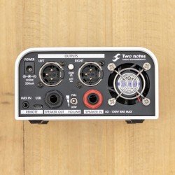 Two Notes Torpedo Captor X Load Box, Attenuator, IR Loader, Speaker Simulator