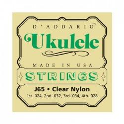 D'Addario snaren J65 ukulele