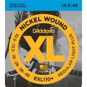 D'Addario snaren elektrisch EXL110+