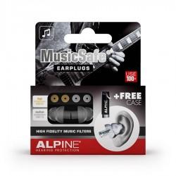Alpine MusicSafe Classic, Unique Earplugs