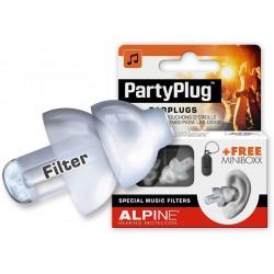 Alpine Partyplug Earplugs Transparant