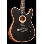 Fender American Acoustasonic Telecaster Black