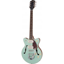 Gretsch G2655T-P90 Streamliner Center Block Jr. Double-Cut P90 with Bigsby Two Tone Mint Metallic