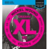D'Addario bas snaren EXL - 170/5 5string